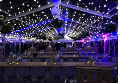 Ton- und Lichttechnik bei einer Hochzeitsfeier