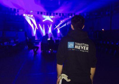 Mitarbeiter der Meyer Ton- und Lichttechnik